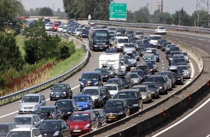 A1: code a tratti tra Parma e Fidenza per traffico intenso