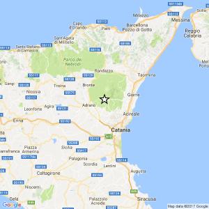 Terremoto catania oggi 30 gennaio 2017 scossa di for Ingv lista terremoti di oggi