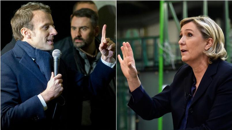 Elezioni francesi Macron e Le Pen al ballottaggio per le presidenziali francesi
