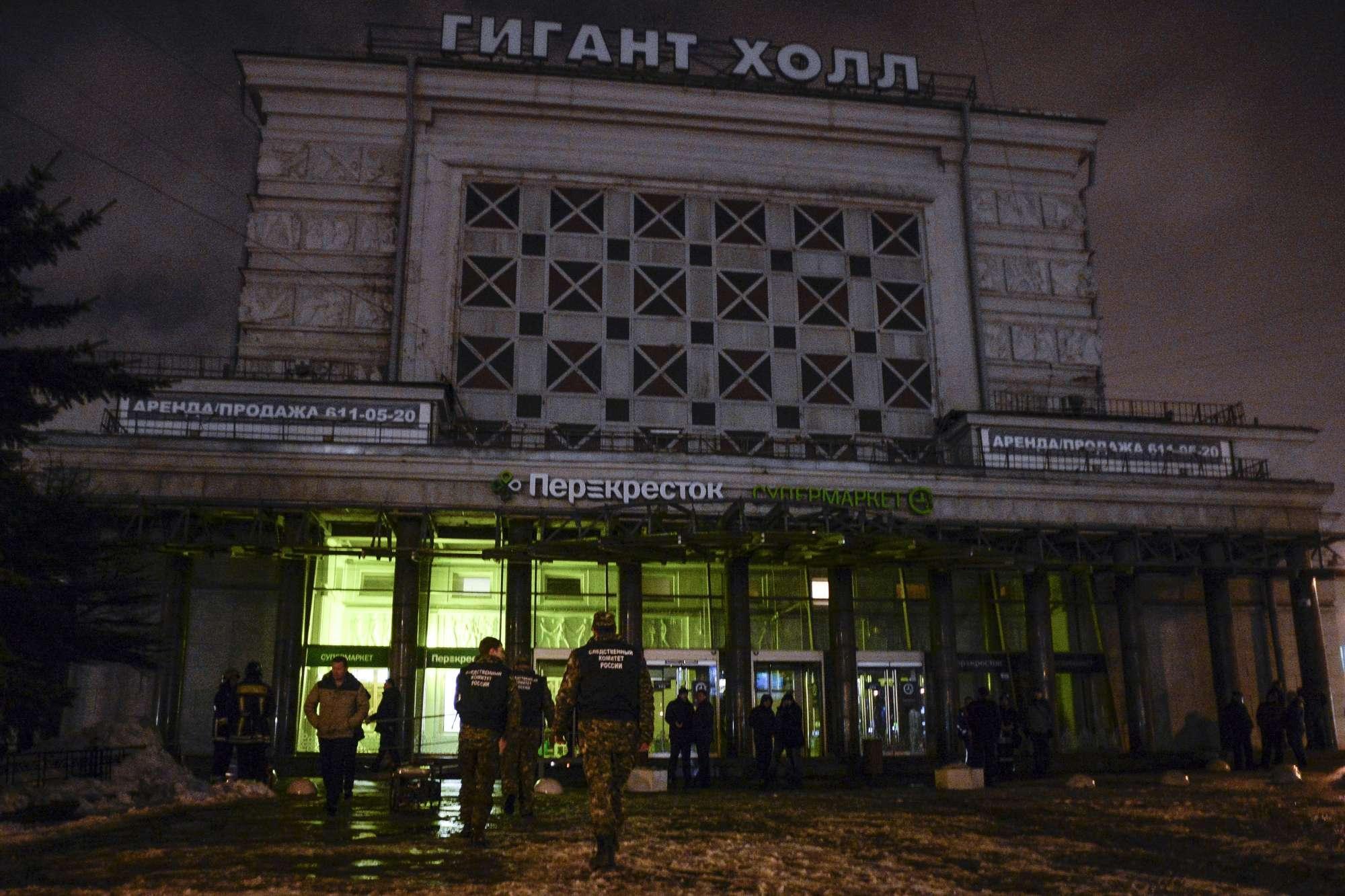 Esplosione in un supermercato a San Pietroburgo. Una decina di feriti